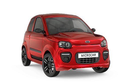 Microcar rouge